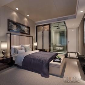 130平米三居主卧室装修效果图