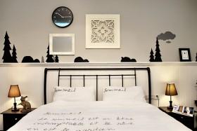 50平小户型宜家风卧室装修效果图