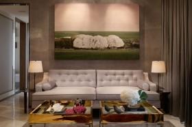 二居室现代风格客厅装修效果图大全