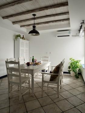 地中海别墅餐厅装修设计效果图