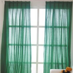 2013阳台窗帘装修效果图欣赏