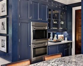 7万打造浪漫温馨地中海风格厨房橱柜装修效果图大全