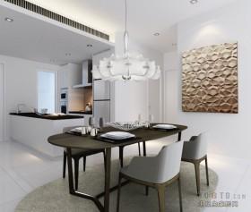 Hap Seng tyc 80万打造四居简约风格餐厅装修效果图大全2012图片