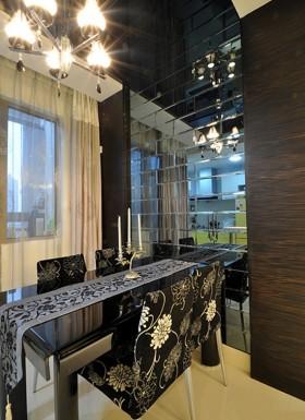 两室一厅餐厅装修效果图大全2012图片