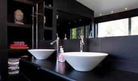 简约现代的双层别墅卫生间装修效果图大全2012图片