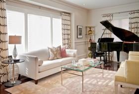 120平复式楼宜家风格客厅装修效果图大全