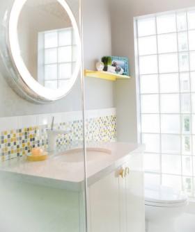 70平米小户型清爽的卫生间装修效果图大全