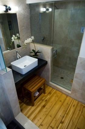 50平米小户型日式风格卫生间装修效果图