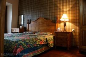 两室两厅田园风格卧室装修效果图
