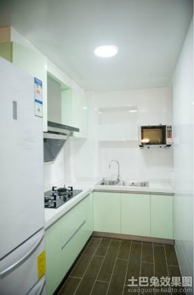 两室两厅现代风格厨房装修