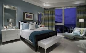 12万打造120平米现代简欧风格卧室装修效果图大全