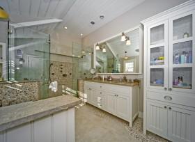 欧式卫生间装饰装潢效果图
