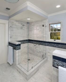 卫生间浴室瓷砖装饰效果图