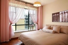 复式楼温馨小卧室窗帘装修效果图大全
