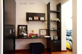 复式楼美式风格书房装修效果图大全2012图片