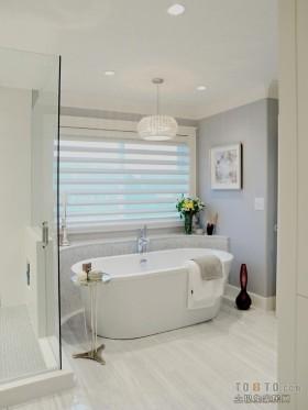 两室两厅现代卫生间装修效果图大全2012图片