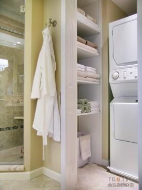 45平小户型卫生间装修效果图大全