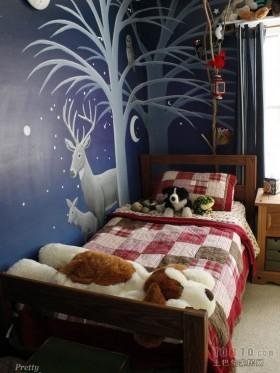 二室一厅儿童房卧室装修效果图大全2013图片
