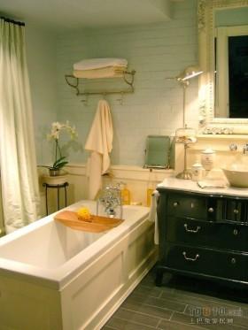 二居室现代卫生间装修效果图大全2012图片