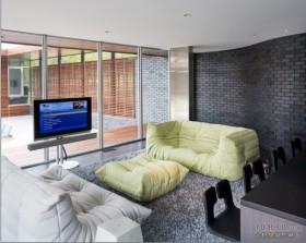 简约温馨的现代风格三居房屋装修效果图