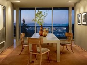 27万打造奢华欧式风格复式餐厅飘窗装修效果图大全
