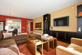 7万打造90平米现代风格客厅装修效果图大全