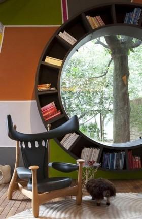 两室两厅创意书房装修效果图大全2012图片