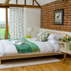 两室两厅田园风格卧室装修效果图大全