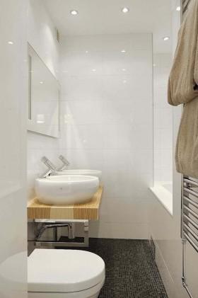 优雅的公寓设计现代风格卫生间装修效果图大全