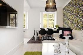 优雅的公寓设计现代风格客厅装修效果图大全