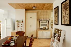 田园风格小户型餐厅装修效果图欣赏