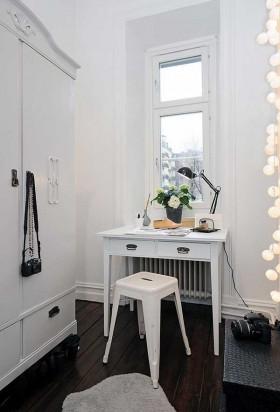 两室两厅简欧风格书房装修效果图大全