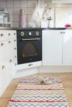 Lisbeth悠闲生活手工之家白色田园厨房橱柜家居