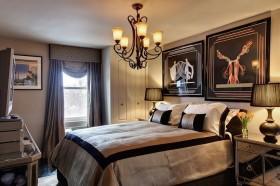 20万打造奢华欧式卧室装修效果图
