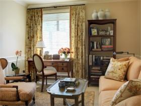 45平小户型田园风格客厅装修设计效果图