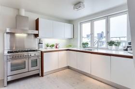 140平米简约风格厨房橱柜装修效果图