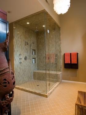 二居简约风格卫生间装修效果图 卫生间设计装修图片