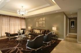 30现代欧式客厅装修效果图