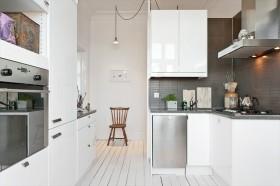 45平单身公寓厨房橱柜装修效果图大全