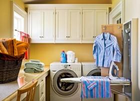 洗衣间装修地中海风格