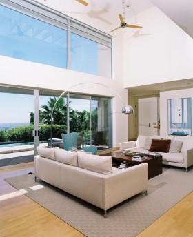 300平别墅客厅装修设计效果图