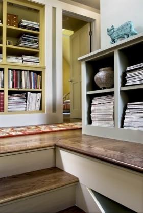 欧式乡村别墅书房装修效果图大全2012图片