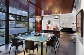 130平四居室现代简约餐厅装修效果图