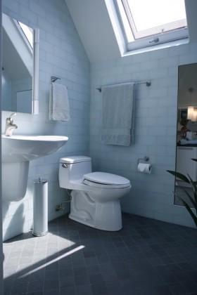 单身公寓厕所装修效果图