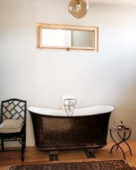 北欧风格卫生间浴缸装修效果图大全