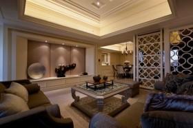 100平米欧式风格客厅装修效果图大全