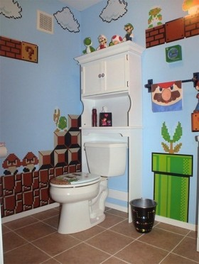 3万打造小户型田园风格卫生间装修效果图大全2012图片
