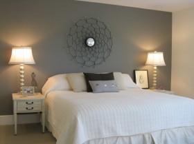 120平卧室背景墙装修效果图