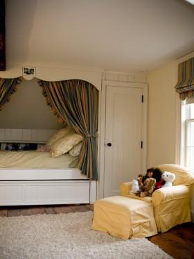 复式楼明朗可爱的儿童房装修效果图大全