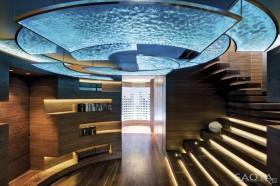 奢华滨海别墅图片大全 绚丽的玄关装修效果图